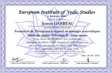 Diplome Garreau2annee18